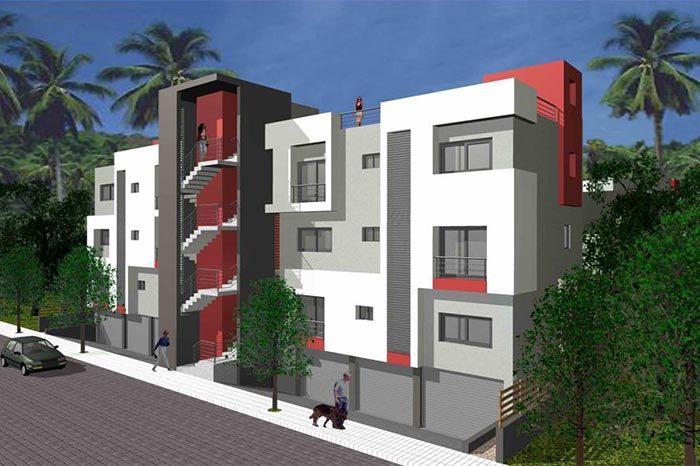 Πολυκατοικία στο Μεξικό